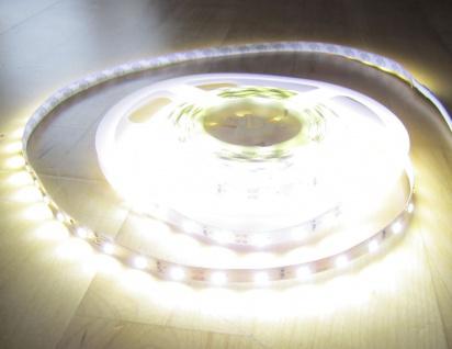 SET 6200 Lumen 5m Ultra-Highpower LED Streifen mit 300 2835 LED's neutralweiß natur weiss naturweiß superhell wasserfest IP65 inkl. Netzteil 24V Pro-Serie TÜV/GS geprüft - Vorschau 4