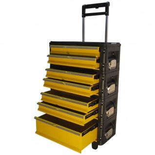 ASS Metall Werkzeugtrolley Werkstattwagen XXL Type: 305BBBC -> jetzt neu mit Schubladenverriegelung und Schloss