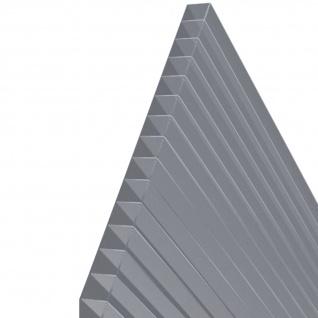 5 Stück Hohlkammerstegplatten 121x60, 5cm 6mm Lexan(TM) Thermoclear(TM) MADE IN AUSTRIA von AS-S