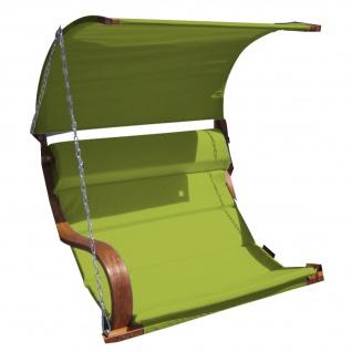 Ersatz Stoffpolster und Dachstoff für Hollywoodschaukel SEAT-MERU grün (NUR SESSELSTOFF ohne Holzteile) von AS-S