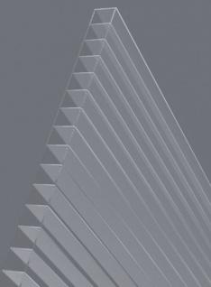 5 Stück Hohlkammerstegplatten 121x60, 5cm 6mm Lexan(TM) Thermoclear(TM) MADE IN AUSTRIA - Vorschau 2