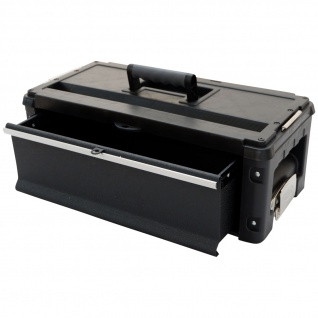 B-WARE Erweiterungsbox Werkzeugkiste mit 1 Lade für unsere schwarzen Trolleys