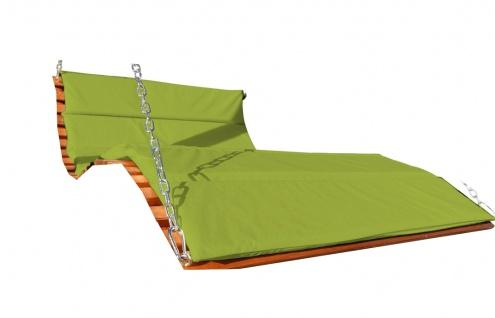 AS-S Ersatz Sitzauflage für Hollywoodschaukelliege ARUBA grün