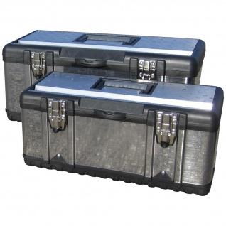SET 2Stück Werkzeugkisten EDELSTAHL besonders EDEL von AS-S