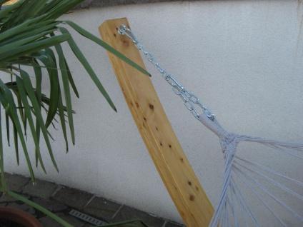 410cm XXL Hängemattengestell NATUR aus Holz Lärche mit Stab Hängematte von AS-S - Vorschau 5