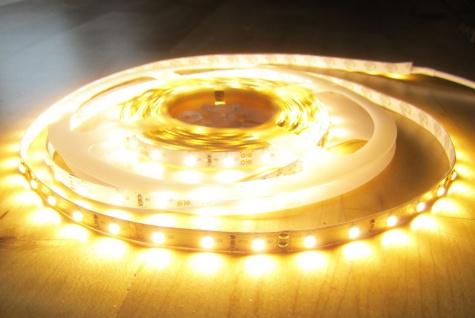 1280 Lumen 5m LED Streifen 300 LED warmweiß warm weiss weiß 24Volt Pro-Serie ohne Netzteil