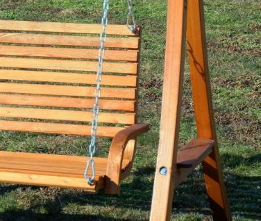 AS-S Design Hollywoodschaukel Gartenschaukel Hollywood Schaukel KUREDO-OD aus Holz Lärche - Vorschau 4