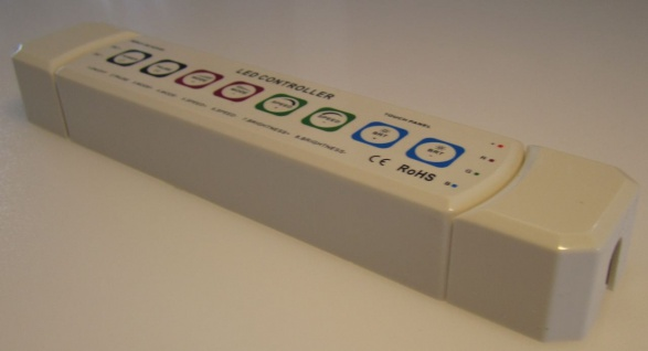 Highpower Profi 3-channel Rgb Led Controller 12v/24v Rgb @touch Wc11 Von As-s - Vorschau 3