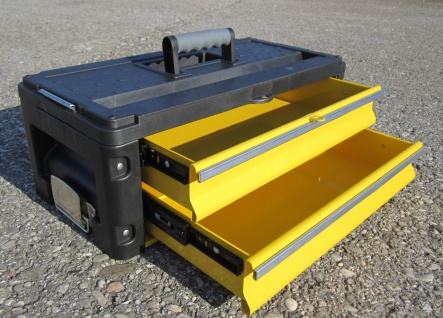 Erweiterungsbox Werkzeugkiste mit 2 Laden - Erweiterung für unsere Trolleys Serie 305 - Vorschau 2