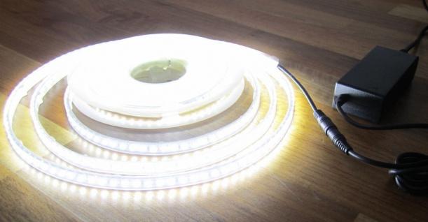 SET 2700 Lumen 5m Led Streifen 600 LED neutralweiß wasserfest IP65 inkl. Netzteil 24V (Pro-Serie) TÜV/GS geprüft - Vorschau 1