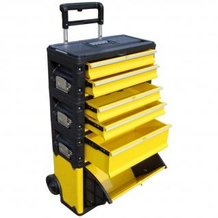 Metall Werkzeugtrolley XXL Type 305BBCD -> jetzt neu mit Schubladenverriegelung und Schloss