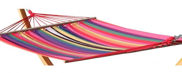 AS-S Doppelhängematte 150x200cm NEGRIL aus Baumwolle