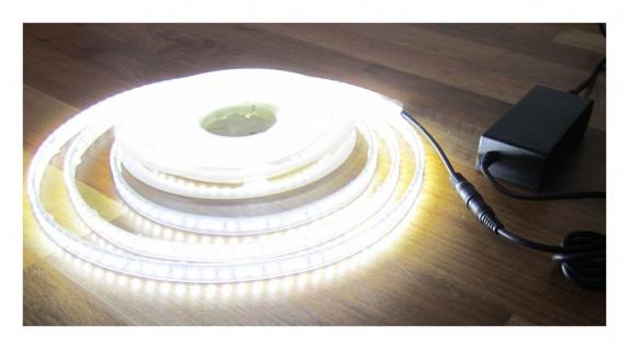 SET 2700 Lumen 5m Led Streifen 600 LED neutralweiß wasserfest IP65 inkl. Netzteil 24V (Pro-Serie) TÜV/GS geprüft von AS-S - Vorschau 2