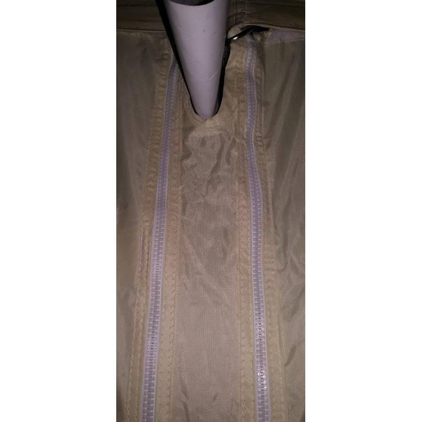AS S Verbindungsteil Seitenwand für 2 Zelte mit Regenrinne für Faltzelt 3mt4, 5mt6mt Meter Länge
