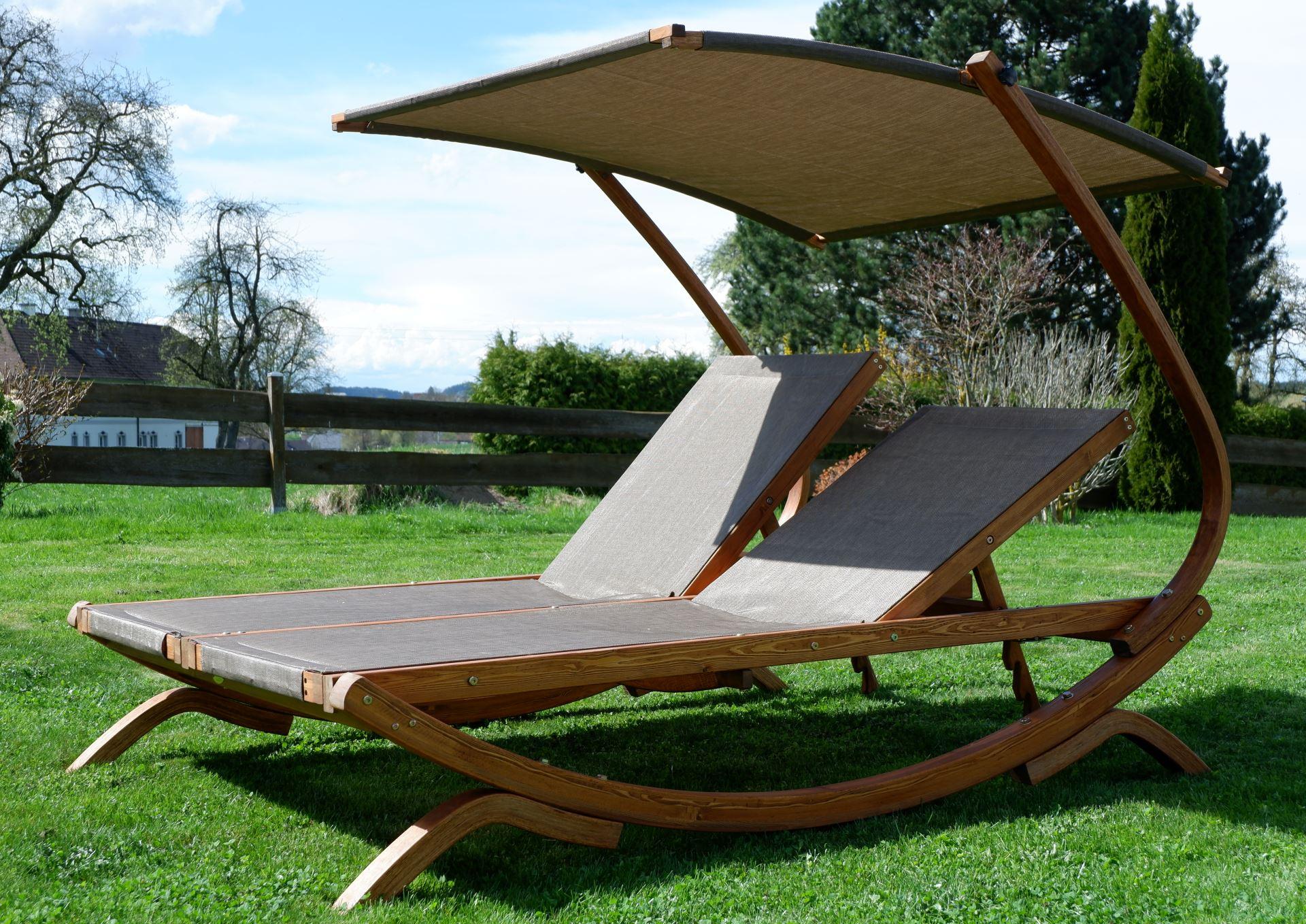 Gartenliege 2 personen dach  Fr 2 Personen. Top Matratze Und Lattenrost Design Ideen Und ...