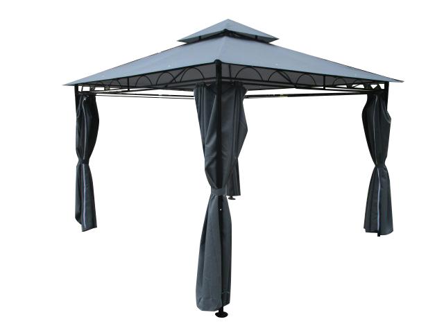 Bevorzugt Eleganter Garten - Pavillon 3x3 Meter, Dach 100% WASSERDICHT UV30+ JO03