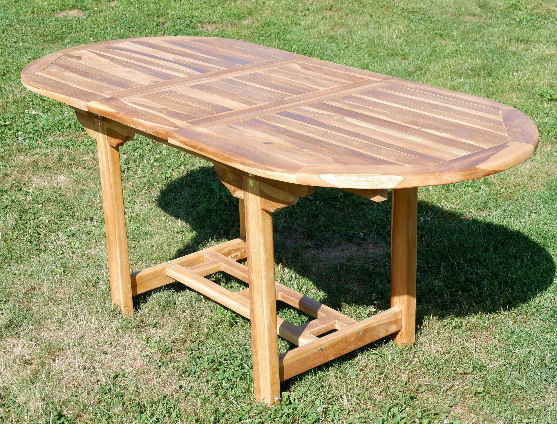 ... Echt TEAK Ausziehtisch 140 180 X 80 Cm Holztisch Gartentisch Tisch  Ausziehbar Holz Mod.