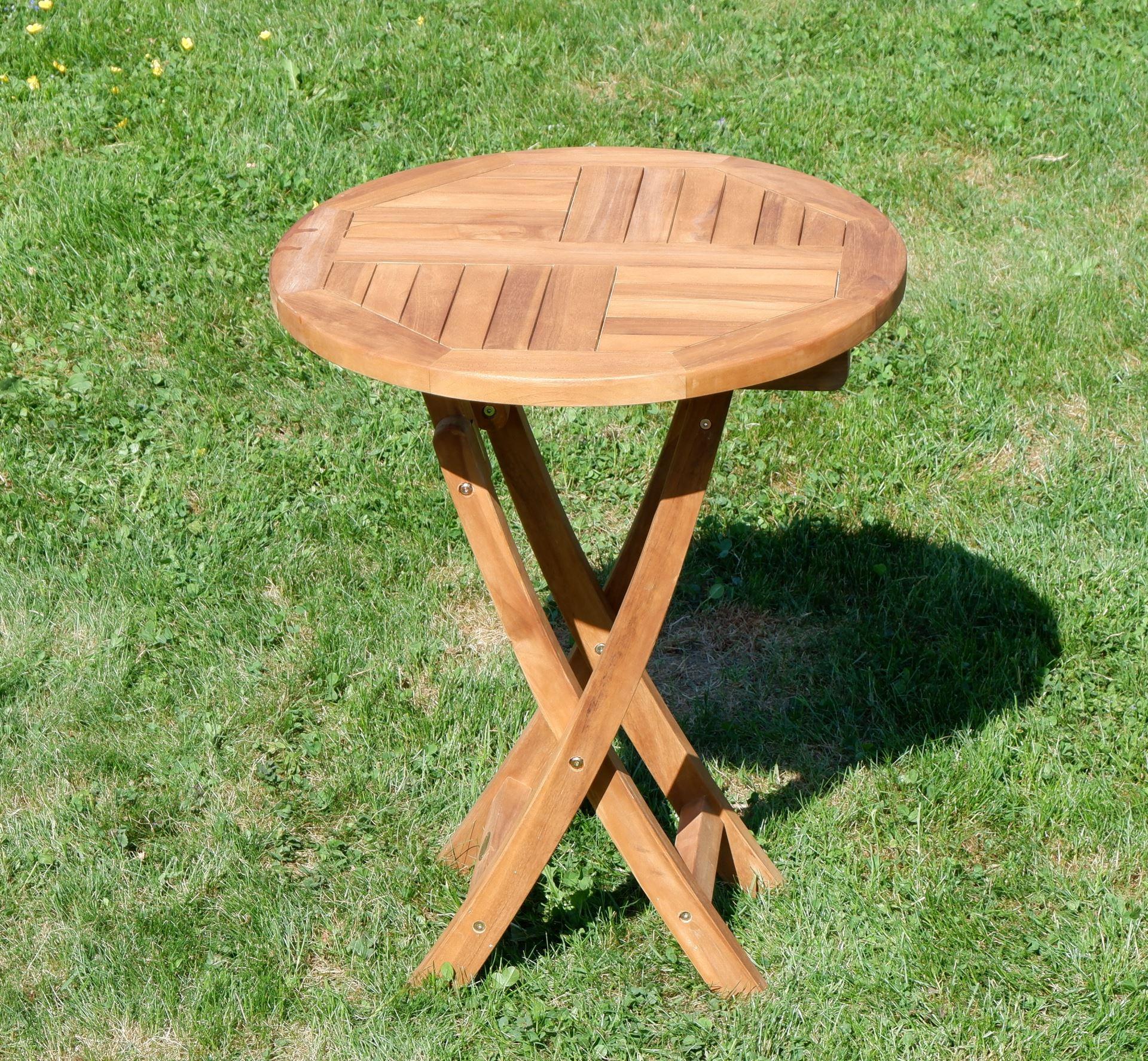 Echt Teak Gartentisch Klapptisch Holztisch Gartentisch Tisch Rund