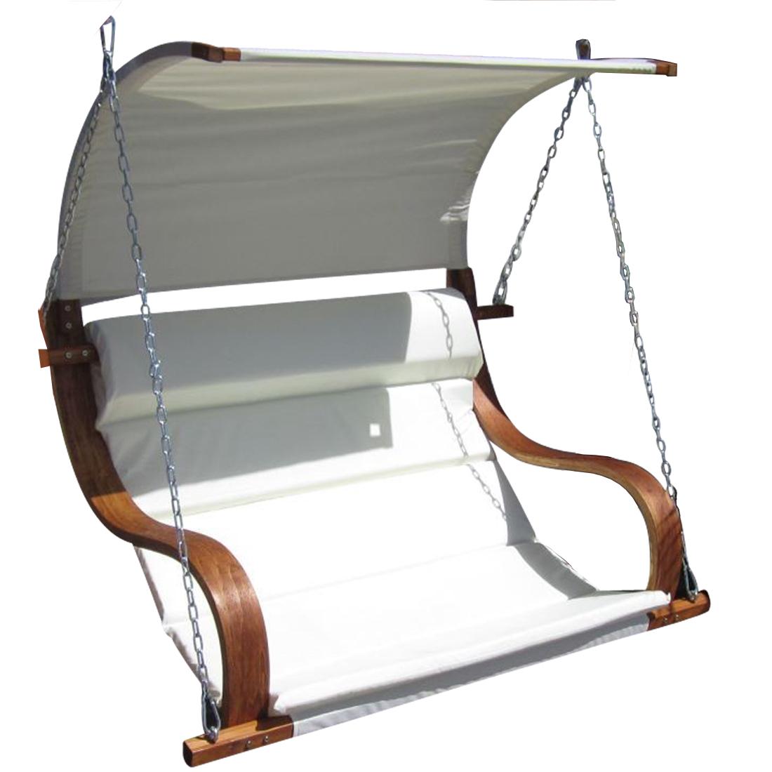 Design Sitzbank Für Hollywoodschaukel SEAT-MERU Aus Holz