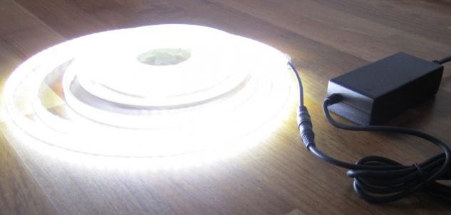 SET 2760 Lumen 5m Led Streifen 600 LED neutralweiß inkl. Netzteil 24V (Pro-Serie) TÜV/GS geprüft von AS-S - Vorschau 4