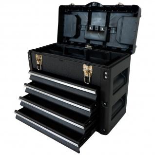 METALL Werkzeugkiste mit 8 Funktionen WK1-B BLACK EDITION B-WARE 2.Wahl