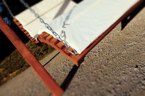 """Design Hollywoodliege """" ARUBA-LOUNGER"""" aus Holz Lärche (ohne Gestell) - Vorschau 4"""