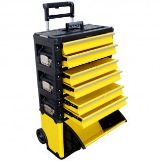 ASS Metall Werkzeugtrolley Werkstattwagen XXL Type: 305BBBD -> jetzt neu mit Schubladenverriegelung und Schloss