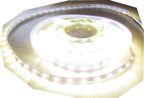 6200 Lumen 5m Ultra-Highpower Led Streifen mit 300 2835 LED's naturweiß neutral weiß weiss superhell wasserdicht IP65 24V ohne Netzteil
