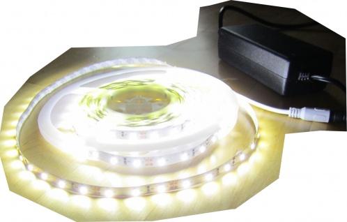 SET 12500 Lumen 5m X-Ultra Highpower Led Streifen mit 600 2835 LED's neutralweiß natur weiss superhell inkl. Netzteil 24V (Pro-Serie) TÜV/GS geprüft von AS-S