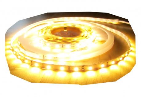 SET 1280 Lumen 5m Led Streifen 300 LED warmweiß warm weiß inkl. Netzteil 24V Pro-Serie TÜV/GS geprüft von AS-S