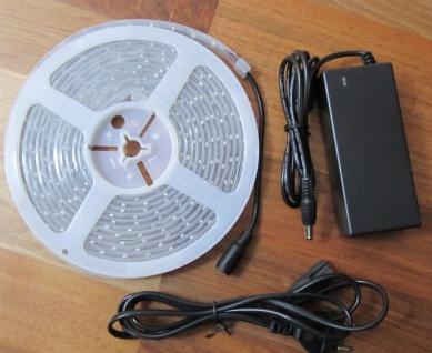 SET 2700 Lumen 5m Led Streifen 600 LED neutralweiß wasserfest IP65 inkl. Netzteil 24V (Pro-Serie) TÜV/GS geprüft - Vorschau 3
