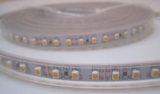 SET 2550 Lumen 5m Led Streifen 600 LED warmweiß wasserfest IP65 inkl. Netzteil 24V Pro Serie TÜV/GS geprüft von AS-S - Vorschau 5