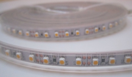 SET 2550 Lumen 5m Led Streifen 600 LED warmweiß wasserfest IP65 inkl. Netzteil 24V Pro Serie TÜV/GS geprüft - Vorschau 5