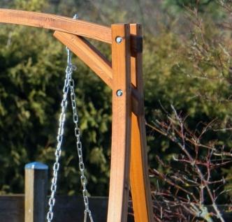 AS-S Design Hollywoodschaukel Gartenschaukel Hollywood Schaukel KUREDO-OD aus Holz Lärche - Vorschau 3