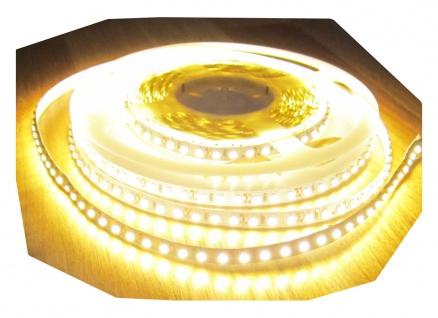 Netzteil 24V SET 2550 Lumen 5m Led Streifen 600 LED warmweiß wasserfest IP65