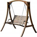 Design Hollywoodschaukel RIO-OD aus Holz Lärche