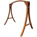 Design Gestell MERU GESTELL für Hollywoodschaukel aus Holz Lärche ohne Sitz