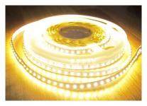 SET 2660 Lumen 5m Led Streifen 600 LED warmweiß mit Dimmer und Fernbedienung inkl. Netzteil 24V Pro Serie TÜV/GS geprüft