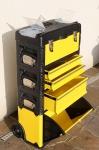Metall Werkzeugtrolley XXL Serie:ABCD mit Schubladenverriegelung und Schloss