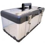 Werkzeugkiste Materialbox EDELSTAHL Type 302XXL 58x30x26 cm