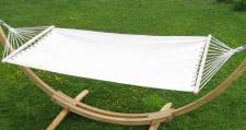 Hängematte 120x200cm BEIGE aus Baumwolle