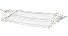 Doppelhängematte 150x200cm BEIGE aus Baumwolle