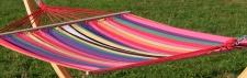 Doppelhängematte 150x200cm NEGRIL aus Baumwolle