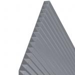 Hohlkammerstegplatten 143x77cm 6mm Lexan(TM) Thermoclear(TM) MADE IN AUSTRIA