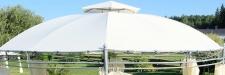 Dachplane wasserfest für Gartenpavillon für 7073-A - kein Umtausch oder Rückgaberecht