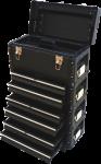 Metall Werkzeugtrolley XXL Serie 305B mit Schubladenverriegelung und Schloss