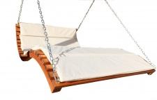 "Design Hollywoodliege "" ARUBA-LOUNGER"" aus Holz Lärche (ohne Gestell)"