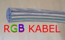 LED RGB Kabel Verlängerung Verlängerungskabel 4-adrig