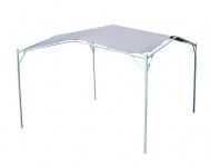 Eleganter Gartenpavillon Pavillon Sonnensegel 3, 5x3, 5m Meter, 12, 25m², Dach aus Polyester UV50+ Modell: IBIZA