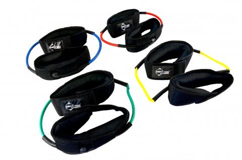 Ankle-Tube rot mittel für Fußgelenke Fitness Tube Fitnessband Sani-Alt